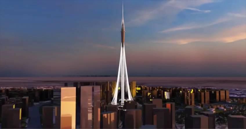 calatrava se inspira en el lirio para levantar la torre ms alta del mundo