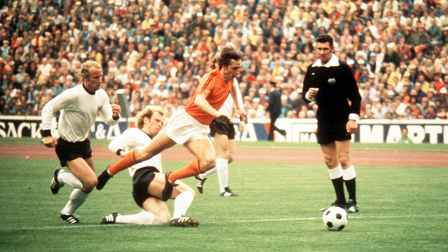 Image result for alemania vs holanda 1974