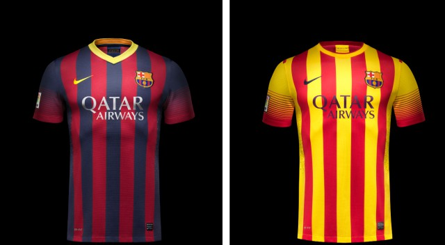 equipacion Barcelona deportivas