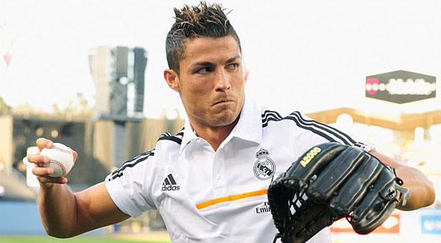 Cristiano se viste de \'pitcher\' | Deportes | EL PAÍS