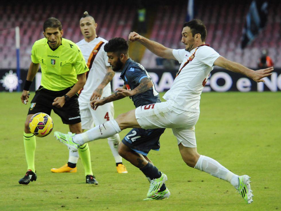Napoles 2 Roma 0 Primero Paz Y Despues Insigne Deportes El Pais