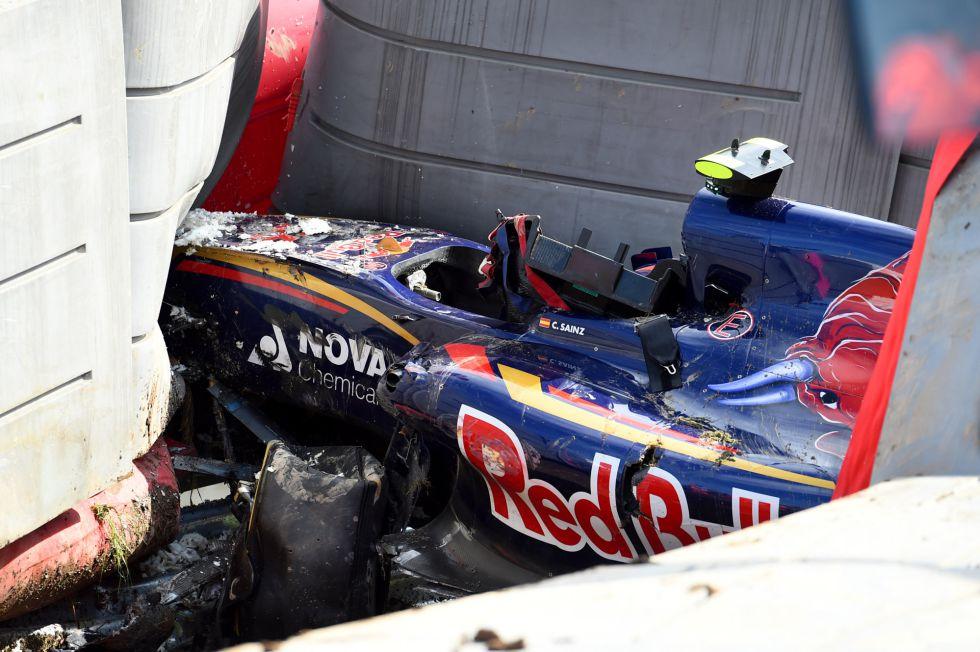 """Fórmula Nada Tengo SainzTras Accidente""""no 1Carlos El DHIW2E9Y"""