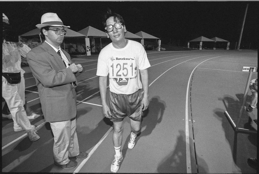635f2ea77 Barcelona Olympic heroes  The Mongolian marathon man who shone alone ...