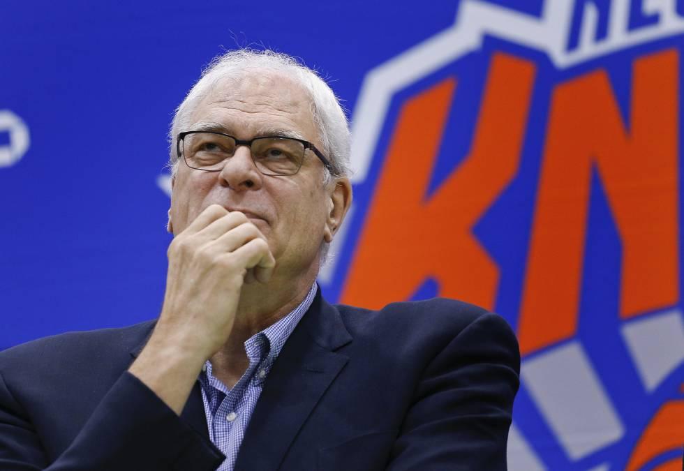 Los Knicks despiden a Phil Jackson | Deportes | EL PAÍS