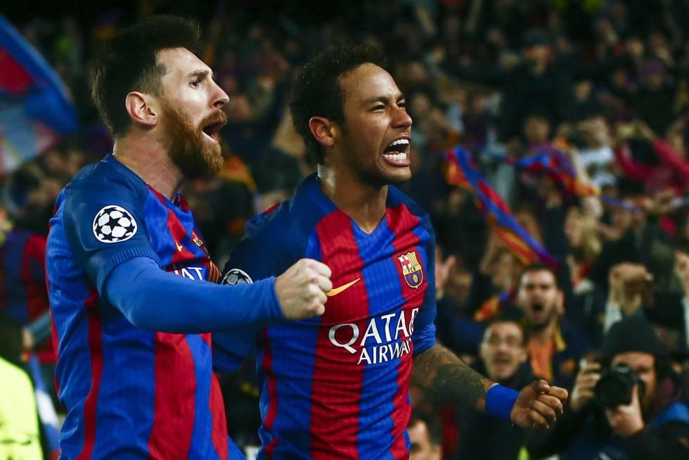 Psg Los 11 Momentos De Neymar En El Barcelona Deportes