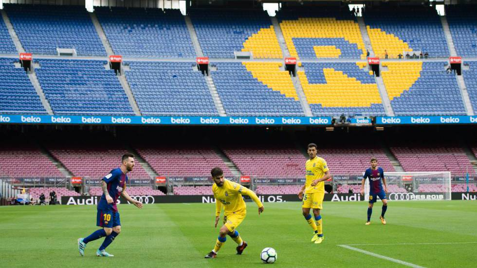 El Barcelona silencia el Camp Nou frente a Las Palmas  376ce6b3c91