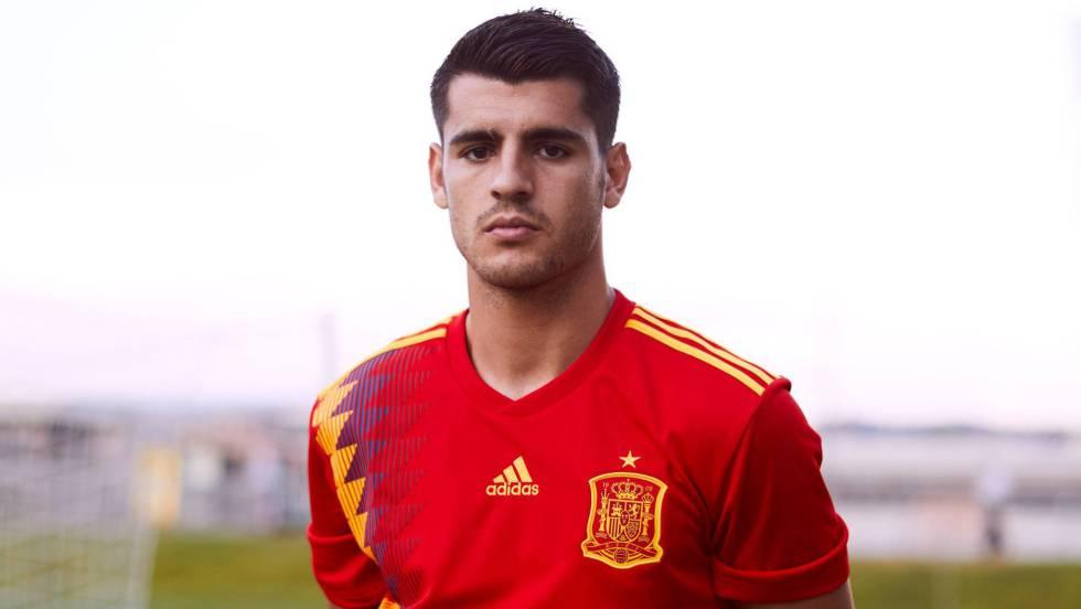 España  Esta es la camiseta de la selección española para el Mundial de  Rusia 2018  299ed7000ec96