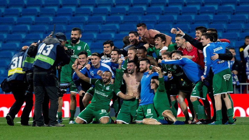 El Leganés de Garitano: de Segunda B a eliminar al Madrid en cuatro ...