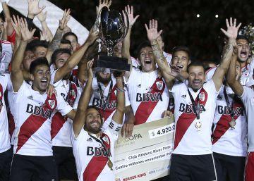 River le gana una final a Boca 42 años después y es campeón de la Supercopa