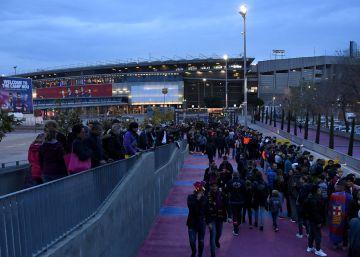 Los seguidores del Chelsea denuncian el trato agresivo de la seguridad del Camp Nou