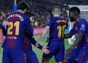 El Barcelona vence al Athletic