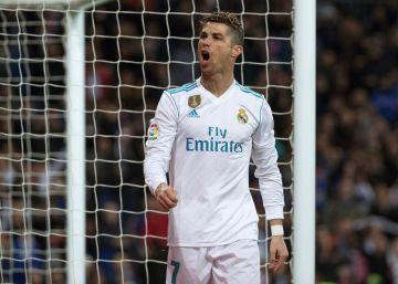 El Real Madrid golea al Girona con póquer de Cristiano