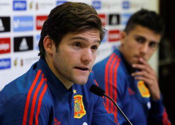 """Marcos Alonso: """"No sé quién es el mejor de mi familia"""""""