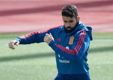 """Diego Costa: """"Echo de menos a Morata, la competencia me va bien"""""""