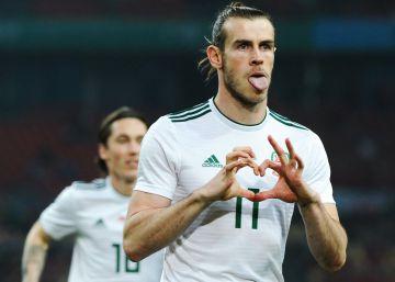 Bale se convierte en el máximo goleador de la historia de Gales