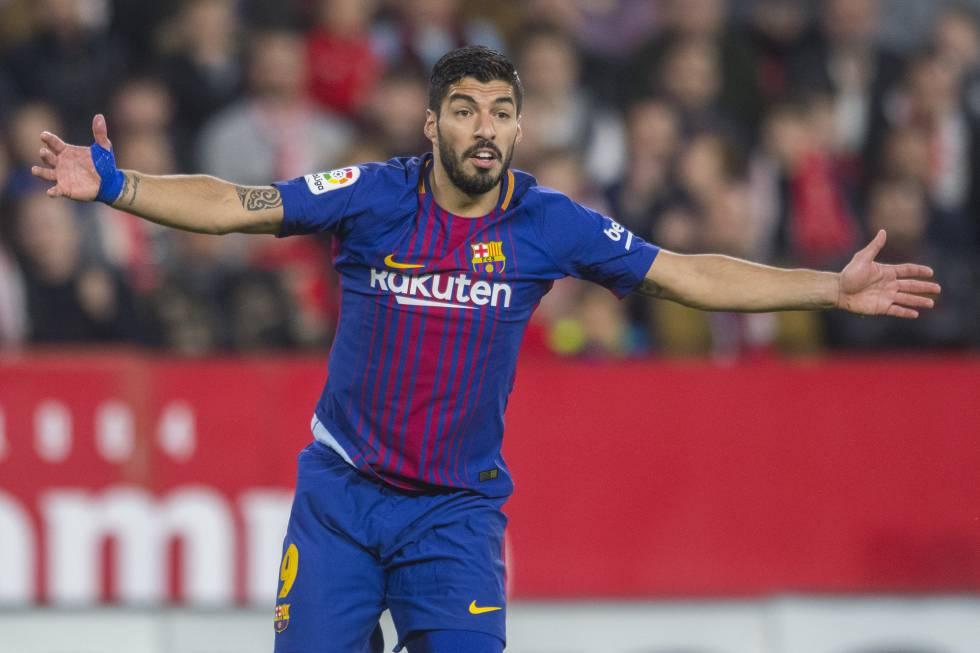 Barcelona vs Roma  Luis Suárez o el gol que está por llegar ... 97a2fee7b6555