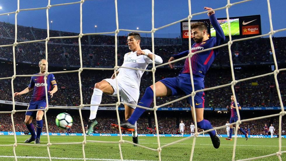 Barcelona - Real Madrid  Cristiano Ronaldo 333220f9cd04a