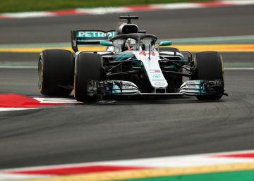 Hamilton pulveriza el récord de Montmeló en la mejor clasificación de Alonso este curso