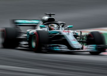Hamilton vence el GP de España; Sainz acaba séptimo y Alonso, octavo