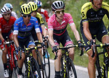 Froome deja de ser el invencible Froome en el Giro de Italia