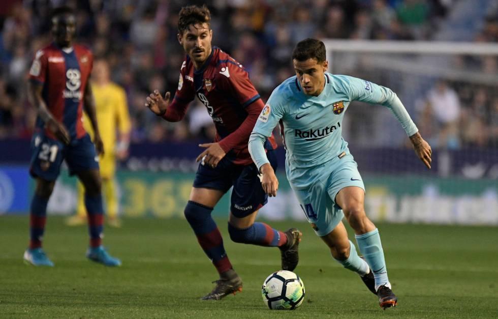 El Barcelona Pierde El Invicto Ante El Levante Deportes