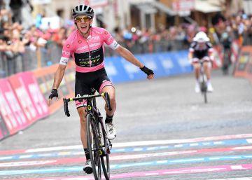 El imparable Simon Yates gana otra etapa del Giro en rosa