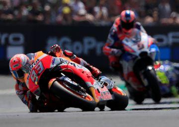 Marc Márquez gana en Le Mans y afianza su liderato en el Mundial