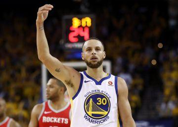 Curry y Durant arrollan por 41 puntos a los Rockets