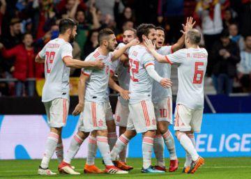 La selección española de Lopetegui, en datos