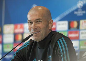 """Zidane: """"¡Cómo me pueden decir que el Liverpool tiene más hambre! Somos el Madrid"""""""