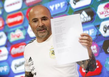 Sin Icardi, Sampaoli confirma a los 23 argentinos que acompañarán a Messi en Rusia