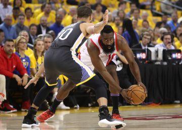 Golpe de mano de Harden y los Rockets en casa de Curry