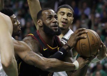 Jaque de los Celtics al Rey LeBron James