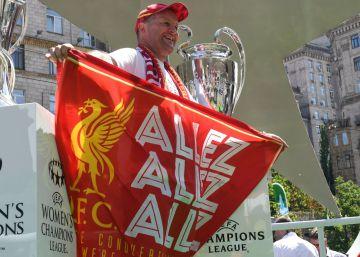 """""""Allez allez allez"""", la canción italiana de los ochenta que canta el Liverpool en la Champions"""