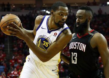 Los Rockets ponen a Curry y los Warriors ante el abismo
