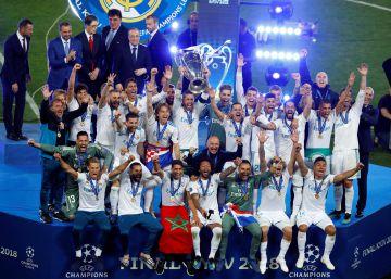 El Real Madrid derrota al Liverpool y logra su 13ª Champions