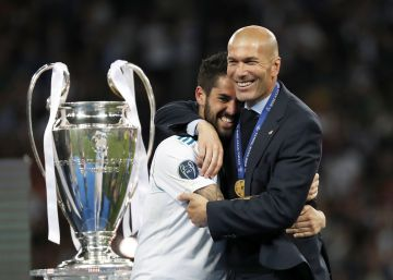 """Zidane: """"El gol de Gareth es mejor que el mío"""""""