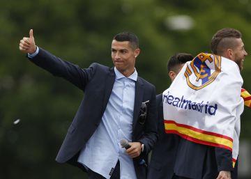 """Cristiano Ronaldo: """"Gracias afición; hasta el próximo año"""""""