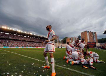 El Rayo Vallecano vuelve a Primera
