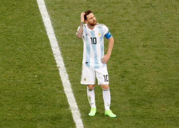 Argentina deja a Messi sin pies ni cabeza