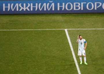 El abatimiento contagioso de Messi