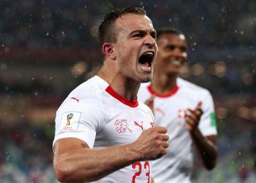 Shaqiri se la juega a Serbia