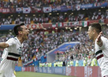 México vence a Corea del Sur y encarrila su clasificación a octavos (1-2)