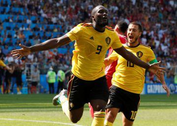 Bélgica golea a Túnez y se clasifica para los octavos