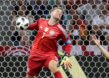 Un gol de Toni Kroos en el 95 salva a Alemania ante Suecia