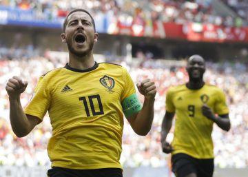 Bélgica exhibe pegada y talento contra Túnez