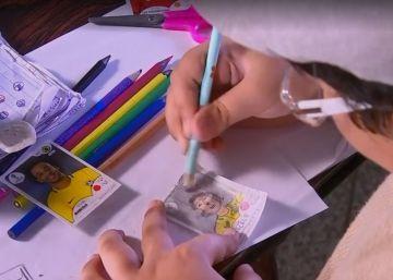 Un Mundial con lápices de colores