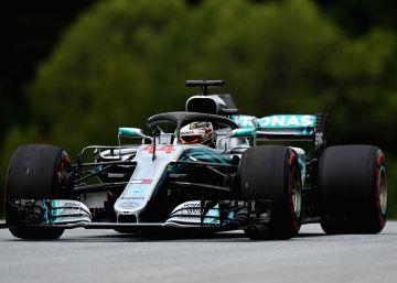 Hamilton y Mercedes exhiben su dominio en Austria