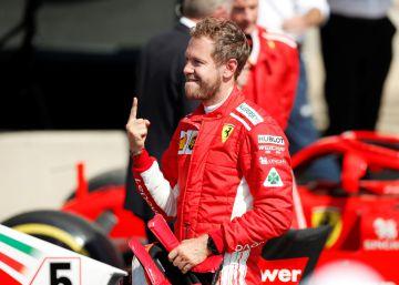 Raikkonen le allana el camino a Vettel