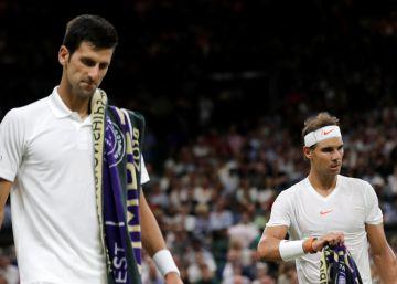 Nadal y Djokovic, vértigo y tregua en la noche